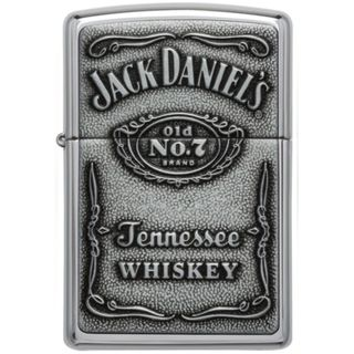 jack daniels zippo schwarz