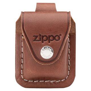 c61d67338577c Zippo Ledertasche braun mit Clip 60001218
