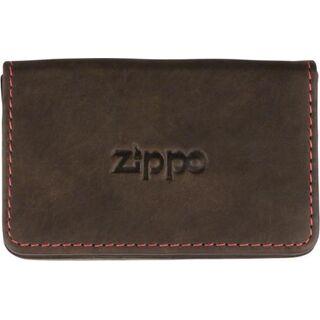 Zippo Visitenkartentasche Leder Mocca 2005141