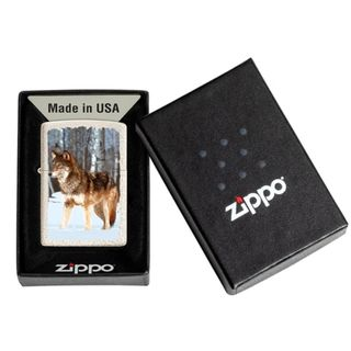 Zippo Wolf in Snowy Forest 60005579